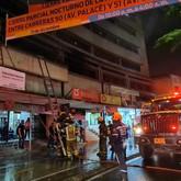 Incendio en edificio en Medellín