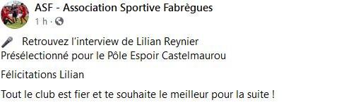 interview Lilian Reynier: