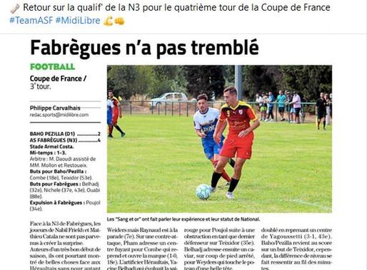 match coupe de France :