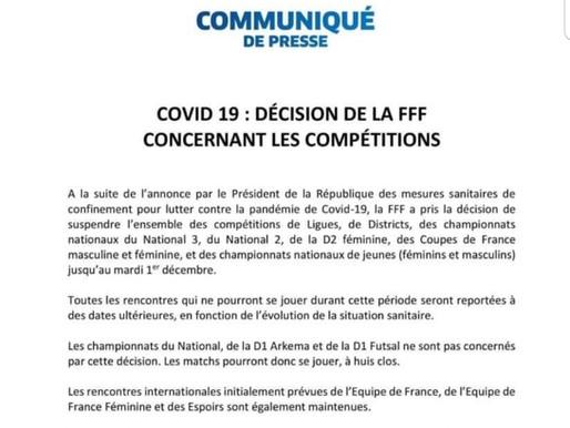 communiqué de presse FFF: