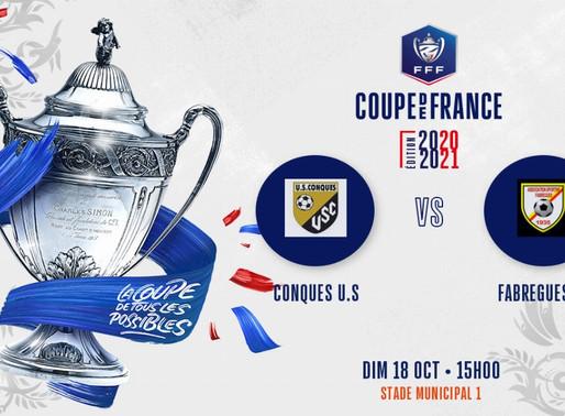 affiche coupe de France 5° tour