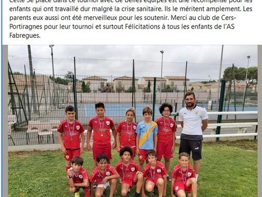tournoi à Cers-Portiragne du 19/06/2021: