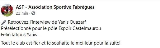 interview de Yanis Ouazarf: