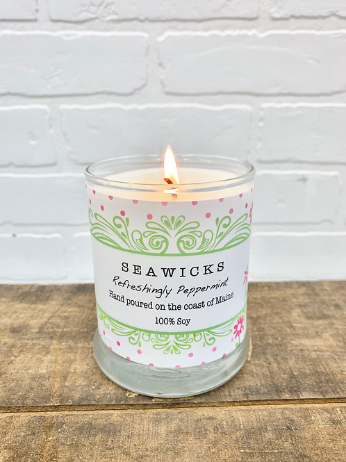 SEAWICKS Refreshingly Peppermint Candle