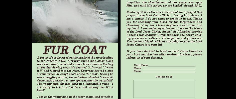 Fur Coat - Gospel Tract