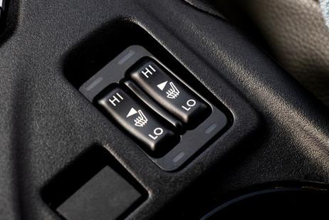 Seat warmer controls