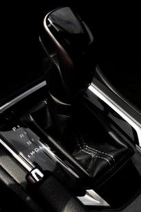 Shifter in a Subaru Impreza