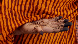ricami di hennè