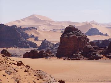 Algeria deserto Tassili