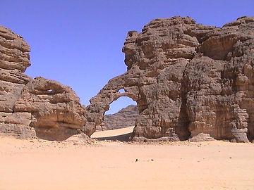 erg tihodaine algeria