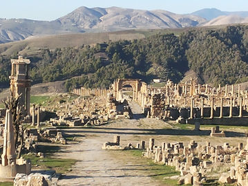 Cuicul Djamila archeologia Algerina