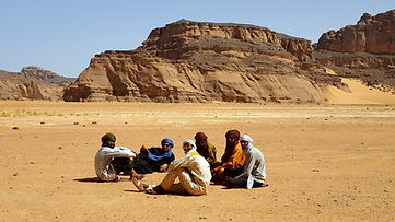 Algeria Tadrart Tassili Presitoria rock art arte rupestre