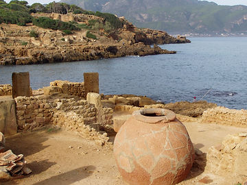 Tipaza algeria romana