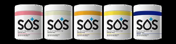 sos hydration productlijn