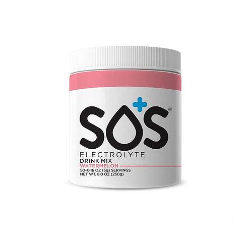 SOS Hydration Elektrolytenpoeder Watermeloen | Pot-50