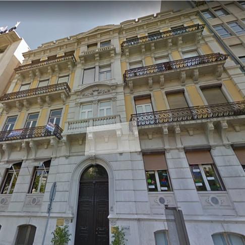 Av da Liberdade em Lisboa - Pintura de fachada