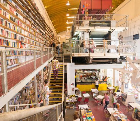 Ler Devagar na LX Factory em Lisboa - Obra geral