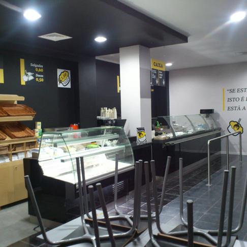 Restaurante Low Cost & Come em Benfica - Obra geral