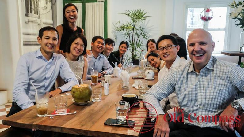A company gathering
