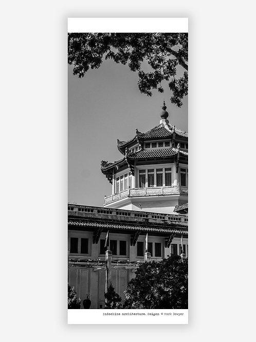 Indochine architecture - Saigon wall hanging