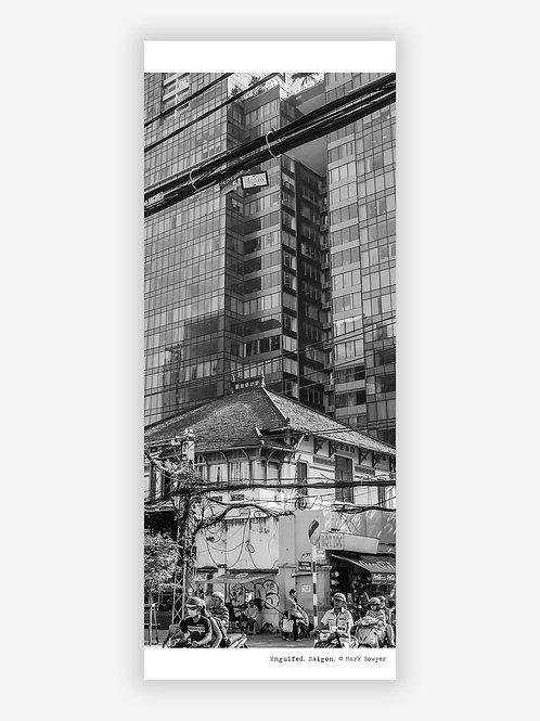Engulfed - Saigon wall hanging