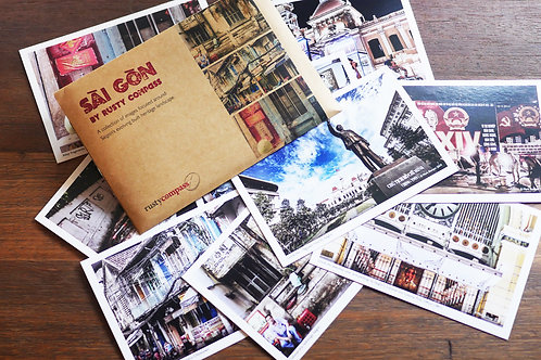 Postcard - Saigon by Rusty Compass
