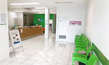 Mountain View Medical Waiting area from