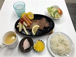 穀物牛のステーキ御膳.jpeg