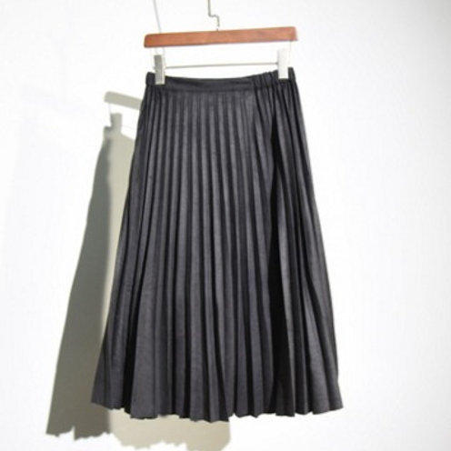 Noir Pleated Skirt