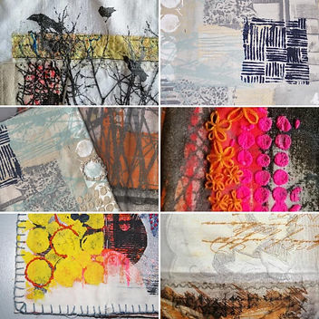 Sue Brown Gum Arabic and Mixed Media on