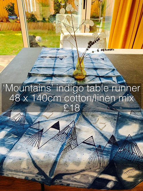 Mountains Table Runner
