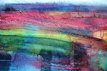 Ruth Issett Stitched surfaces to Dye for
