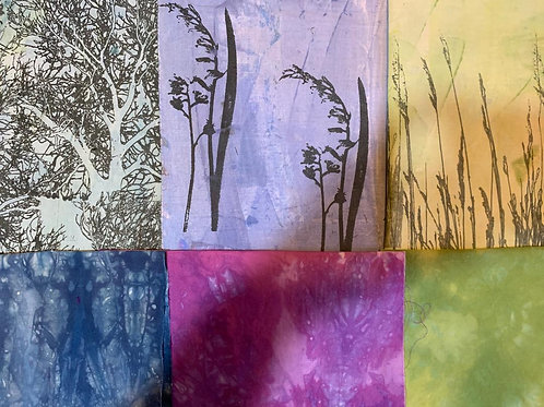 'Bluebell Walk' Fabric Bundle