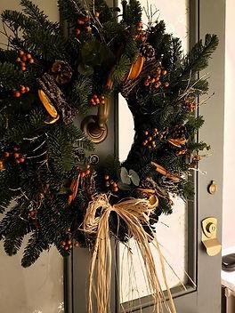 Festive wreath making with Rebecca Kate