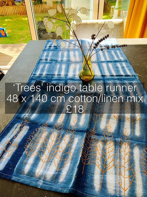 Trees Table Runner
