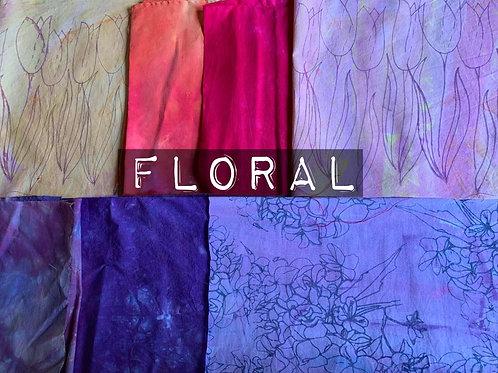 'Floral' Fabric Bundle