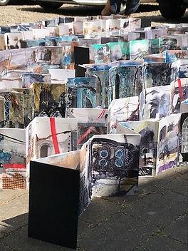 Karen Stamper concertina sketchbooks wor
