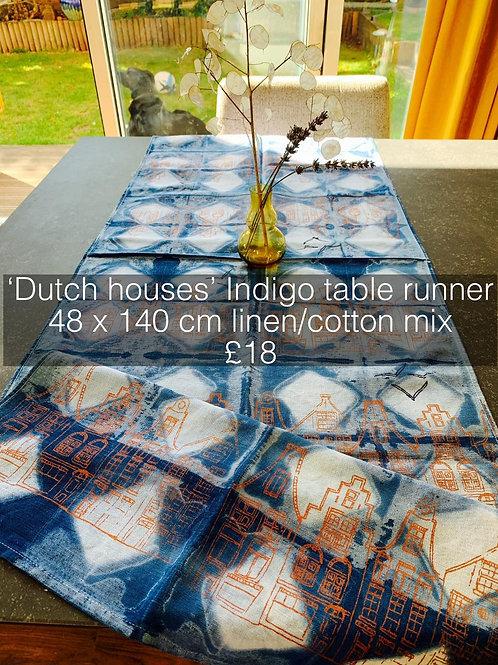Dutch Houses Table Runner