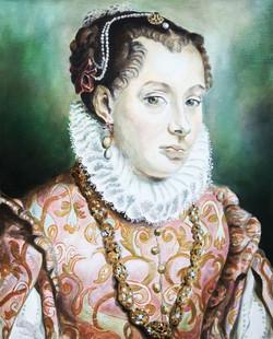Studie naar Renaissance portret  201