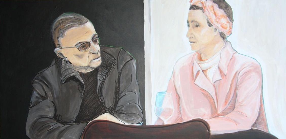 Simone en Sartre