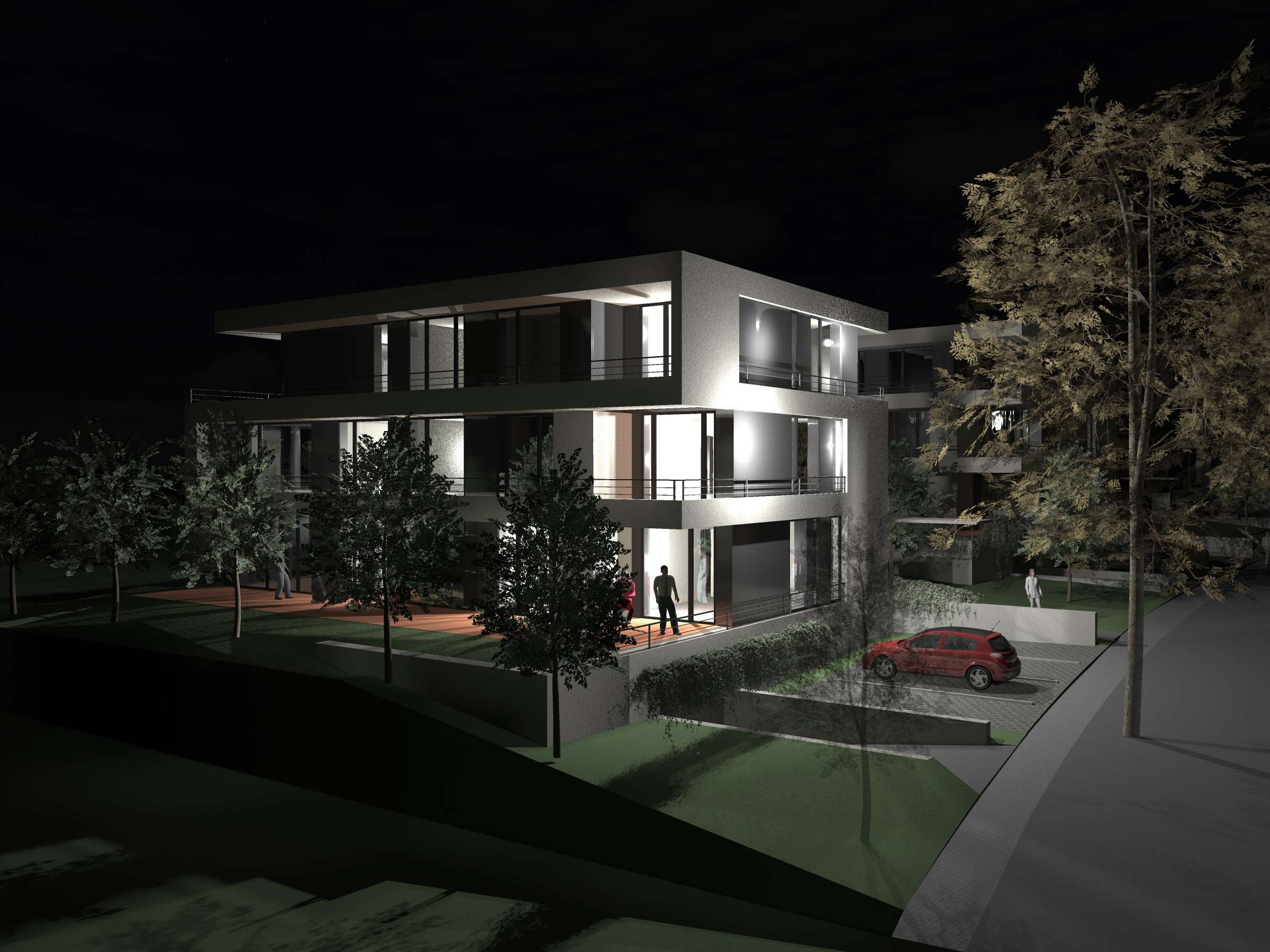 residential villa - Roztokyl - Prague - DA - 2012 01