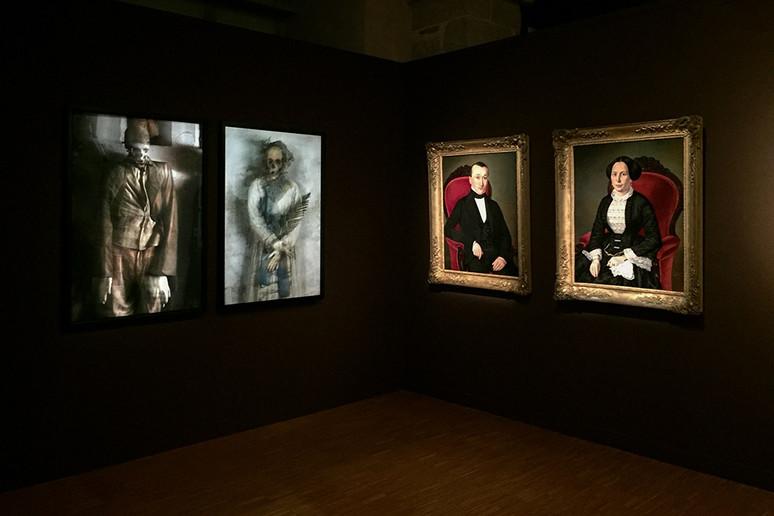 """MOMIES DE PALERME - Galerie des Hospices - Exposition collective """"Pêle-Mêle"""" - Limoges - 3"""