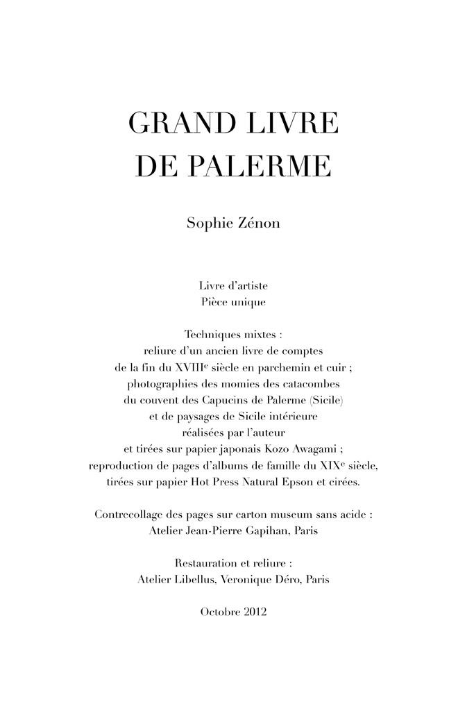 Grand Livre de Palerme