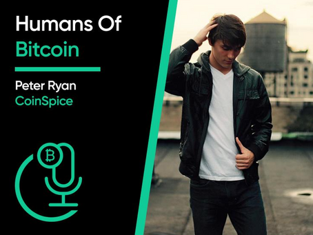 Bitcoin.com Podcast: From CoinDesk to CoinSpice - Peter Ryan