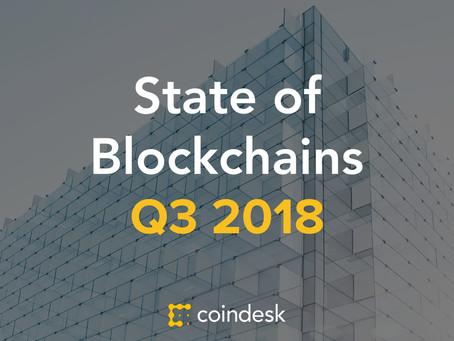 State of Blockchain: Q3 2018
