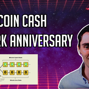 BCH Fork Anniversary - CoinSpice Live
