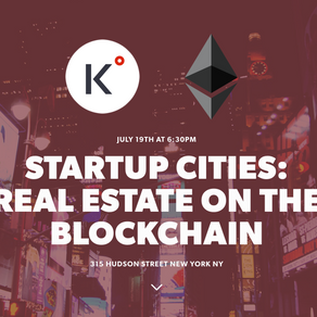 Real Estate on the Blockchain - Startup Cities