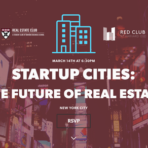 The Future of Real Estate with Harvard - Startup Cities