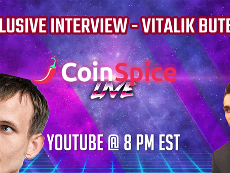 Vitalik Buterin, Founder of Ethereum, Interview - CoinSpice Live