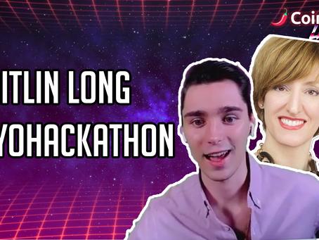 Caitlin Long - WyoHackathon - CoinSpice Live Interview